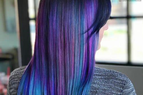 Galaxy hair colors