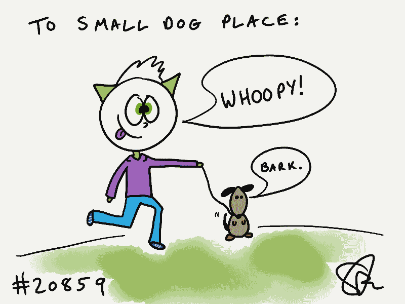 To Small Dog Place from Steve Gadlin